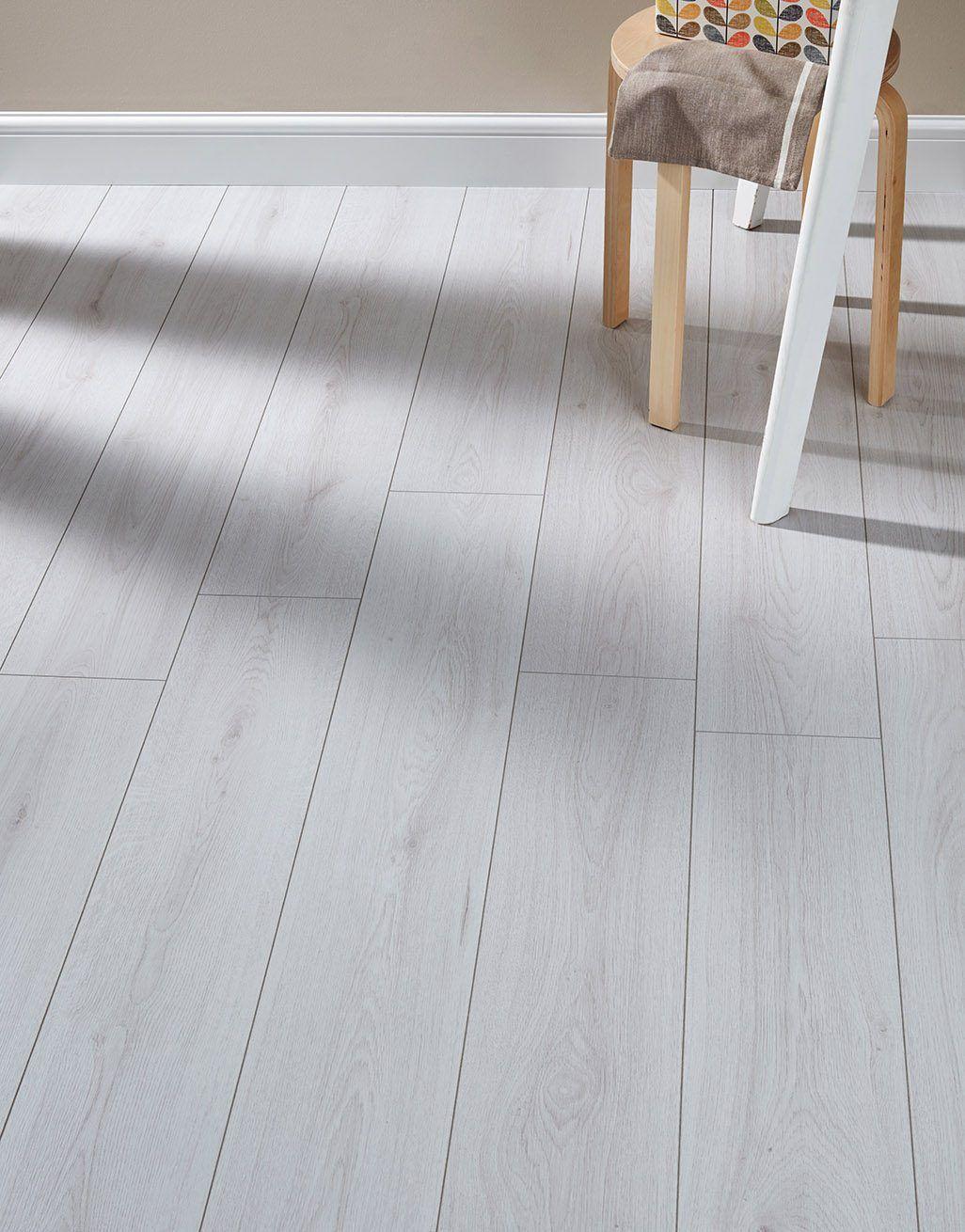 Farmhouse - White Laminate Flooring