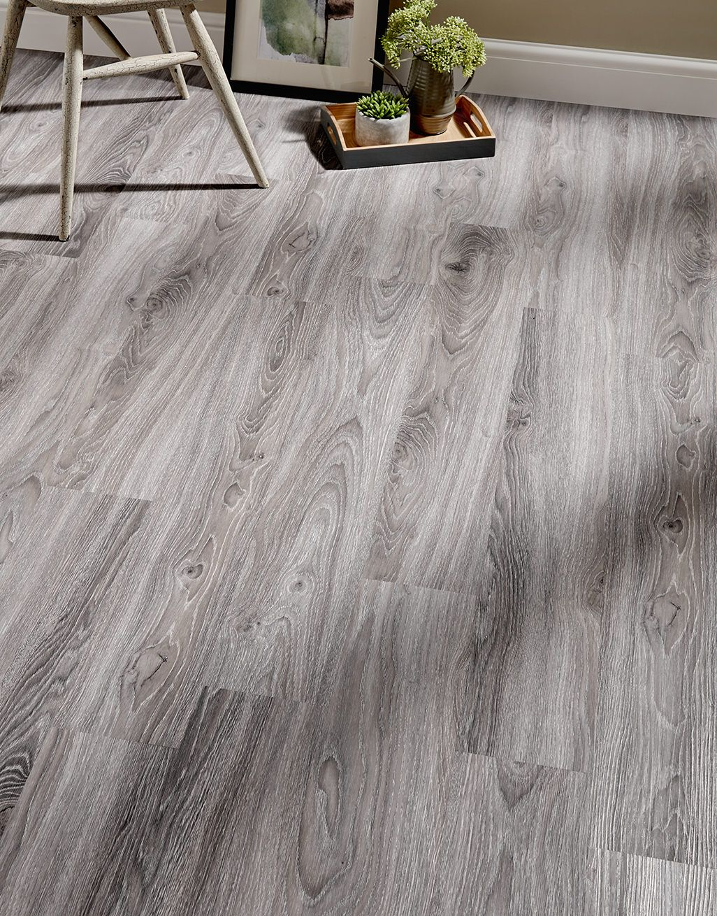 Florence Click Grey Oak Luxury Vinyl Tile Flooring Direct Wood