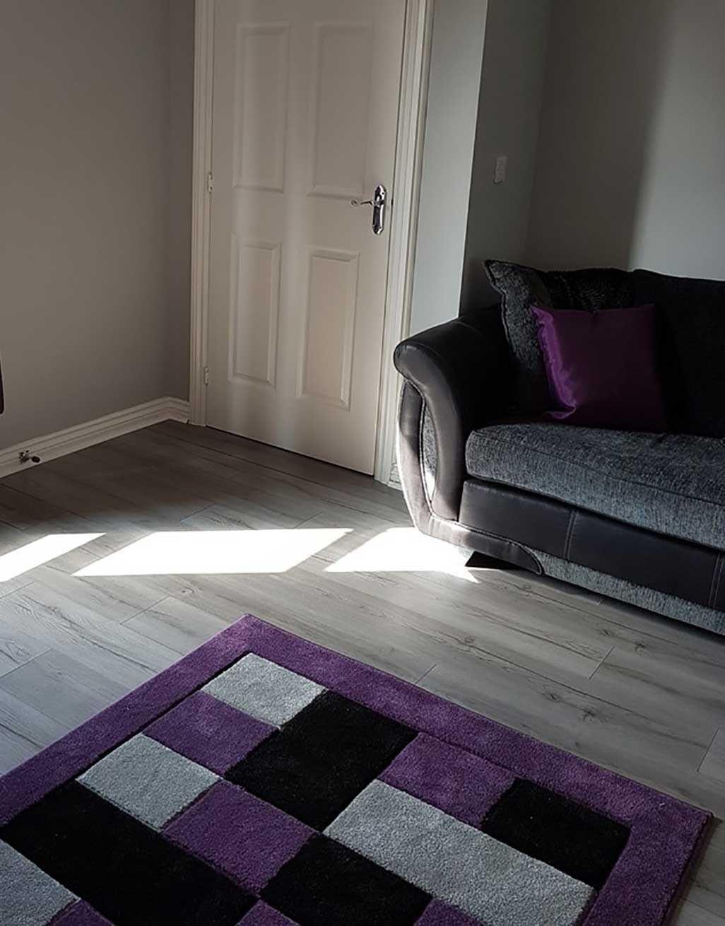 Loft Dark Grey Laminate Flooring, What Colour Sofa Goes With Grey Laminate Flooring