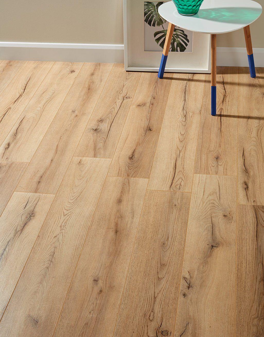 Loft Rustic Oak Laminate Flooring, Real Wood Effect Laminate Flooring
