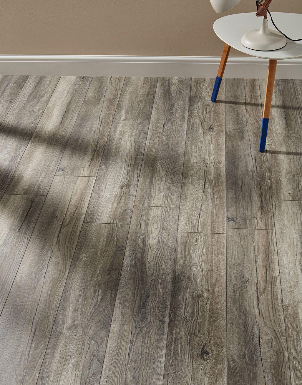 Harbour Oak Grey Laminate Flooring, Villa Laminate Flooring