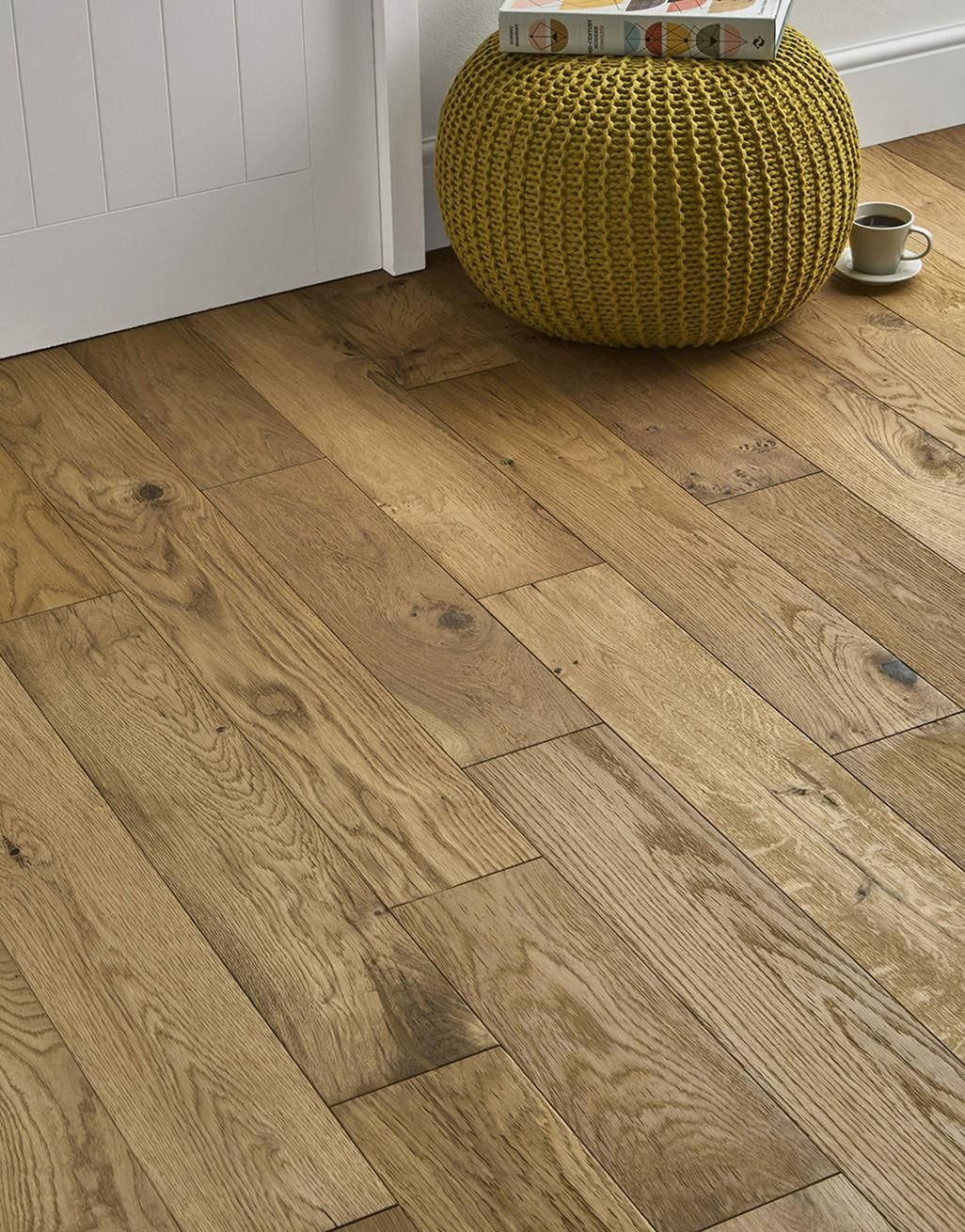 Loft Natural Oak Brushed Oiled Engineered Wood Flooring Direct Wood Flooring