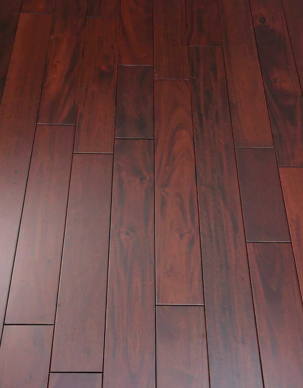 Royal Mahogany Narrow Solid Wood Flooring | Direct Wood ...