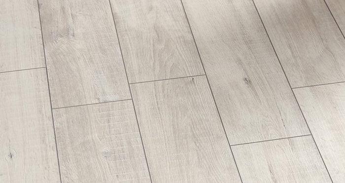 Villa - Gala Oak White Laminate Flooring - Descriptive 2