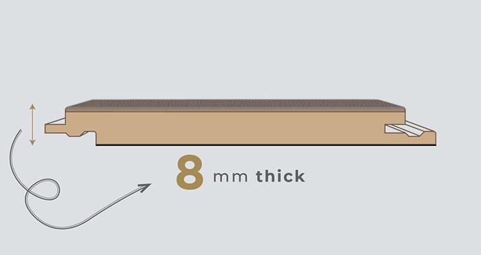 Manor - Peterson Oak Grey Laminate Flooring - Descriptive 1