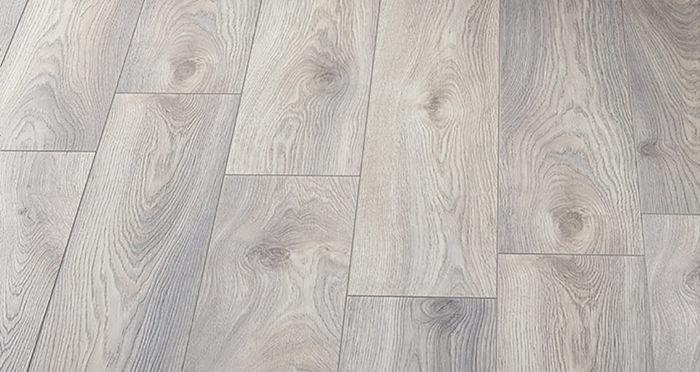 Supreme 12mm Long Board - Macro Oak White Laminate Flooring - Descriptive 2
