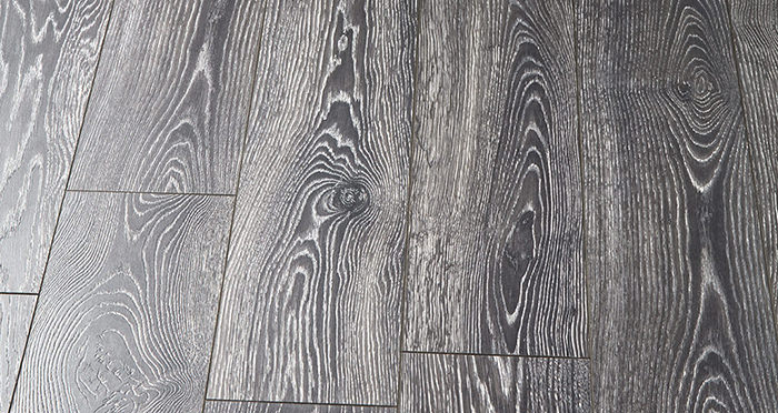 Supreme 12mm Long Board - Highland Oak Black Laminate Flooring - Descriptive 2