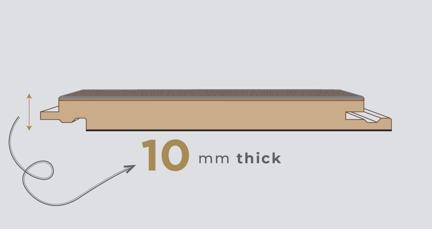 Residence Narrow - Barley Oak Laminate Flooring - Descriptive 1