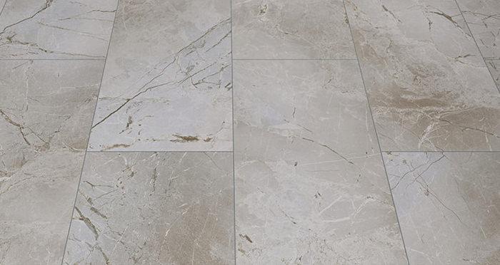 Verona Tile - Light Grey Marble Laminate Flooring - Descriptive 2
