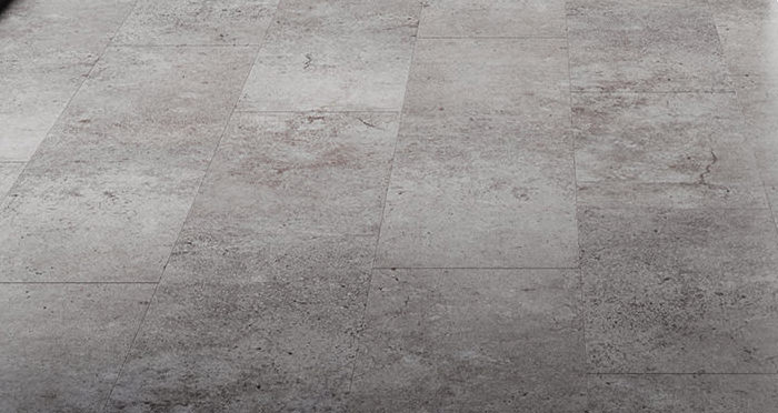 Verona Tile - Concrete Laminate Flooring - Descriptive 2