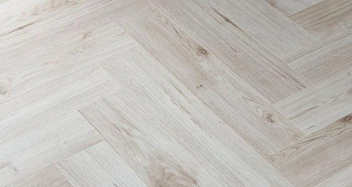 Herringbone - Pearl Oak Laminate Flooring - Descriptive 2