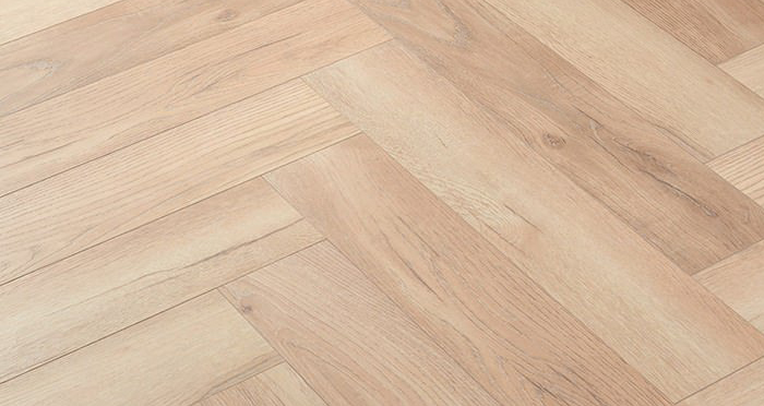 Herringbone - Elegant Oak Laminate Flooring - Descriptive 2