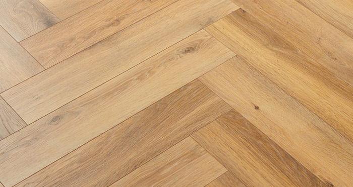 Herringbone - Bayside Oak Laminate Flooring - Descriptive 2