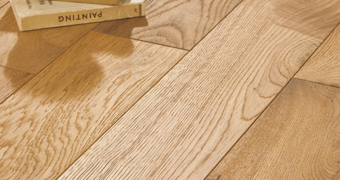 Chequer Tile - White High Gloss Laminate Flooring - Descriptive 2
