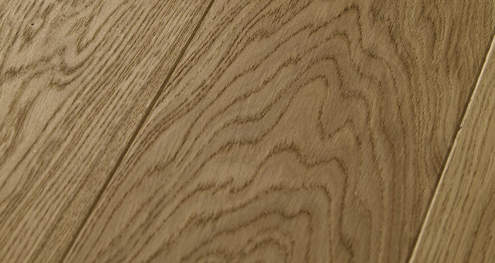 Carpenters Choice Oak 185mm Wide Brushed & Lacquered - Descriptive 1