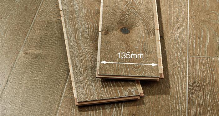 Kensington Chocolate Brownie Oak Engineered Wood Flooring - Descriptive 2