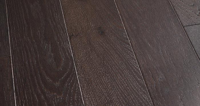 Kensington Espresso Oak Lacquered Engineered Wood Flooring - Descriptive 1