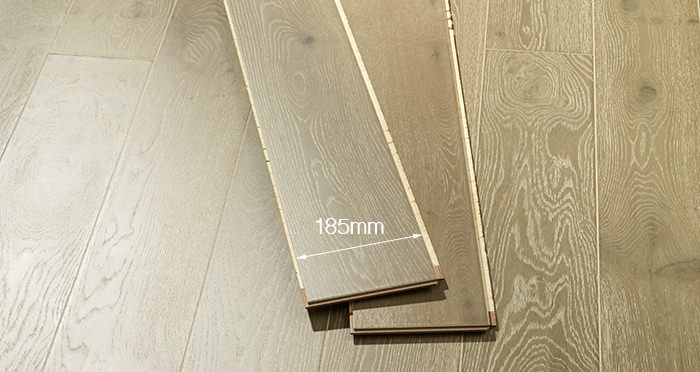 Mayfair Chocolate Sundae Oak Engineered Wood Flooring - Descriptive 2