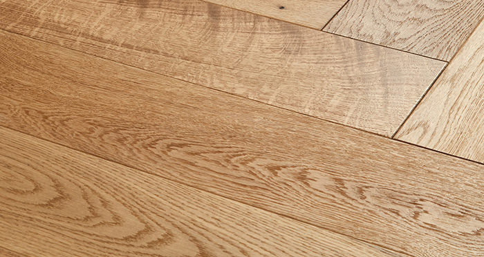 Marylebone Harvest Brown Oak Brushed & Oiled Engineered Wood Flooring - Descriptive 1