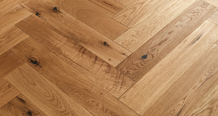 Marylebone Harvest Brown Oak Brushed & Oiled Engineered Wood Flooring - Descriptive 3