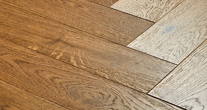 Marylebone Rich Toffee Oak Brushed & Lacquered Engineered Wood Flooring - Descriptive 1