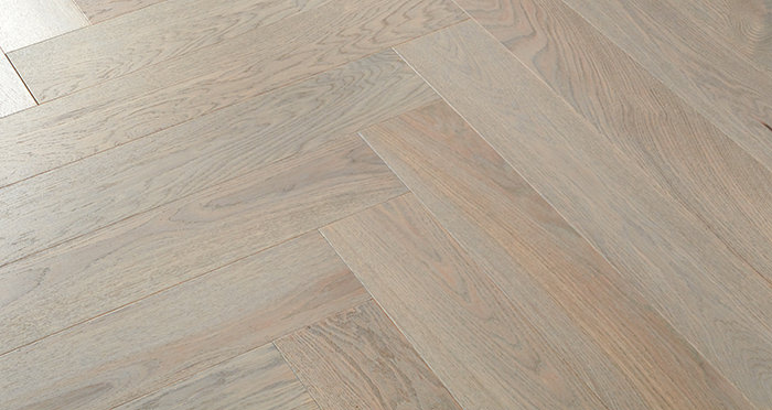 Marylebone Apollo Grey Oak Brushed & Lacquered Engineered Wood Flooring - Descriptive 3