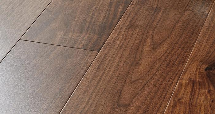 Mayfair Walnut Lacquered Engineered Wood Flooring - Descriptive 1
