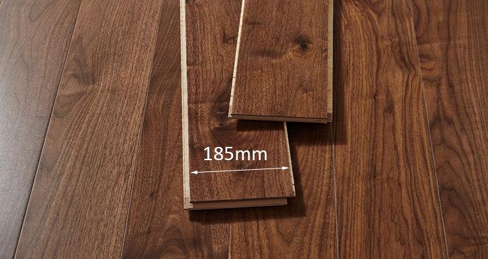 Mayfair Walnut Lacquered Engineered Wood Flooring - Descriptive 2