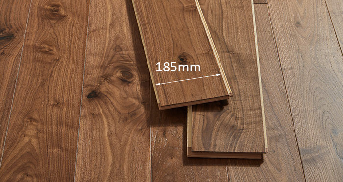 Mayfair Walnut Brushed & Lacquered Engineered Wood Flooring - Descriptive 2