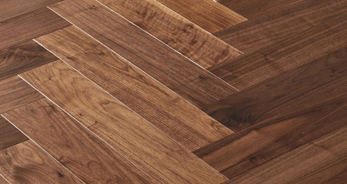 Marylebone Walnut Lacquered Engineered Wood Flooring - Descriptive 3