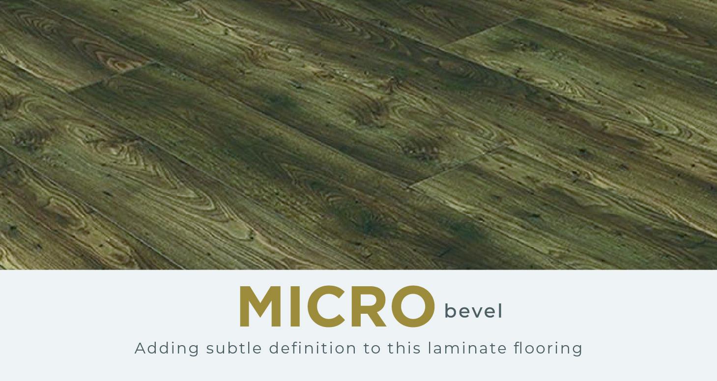 Chevron - Natural Oak Laminate Flooring - Descriptive 2