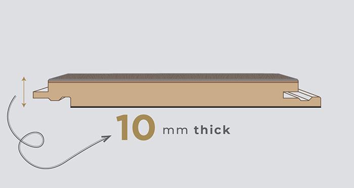 Jubilee - Addington Chestnut Laminate Flooring - Descriptive 1