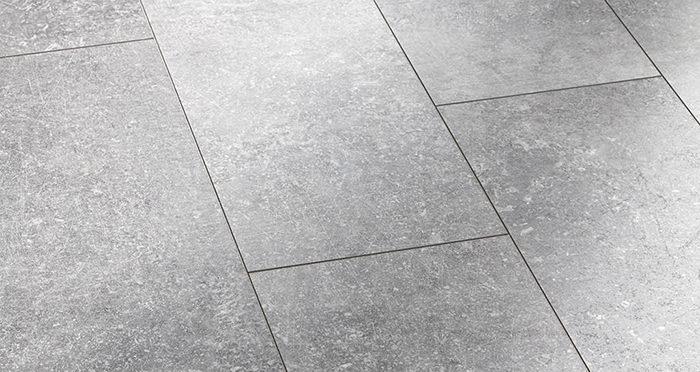 Valencia Tile - Weathered Grey Laminate Flooring - Descriptive 2