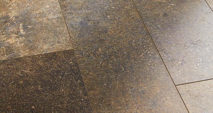 Valencia Tile - Copper Laminate Flooring - Descriptive 2