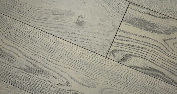 Apollo Grey Oak - Brushed & Oiled Engineered Wood Flooring 14mm - Descriptive 5