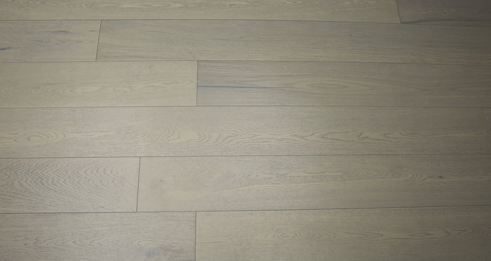 Apollo Grey Oak - Brushed & Oiled Oak Engineered Wood Flooring 20mm - Descriptive 3