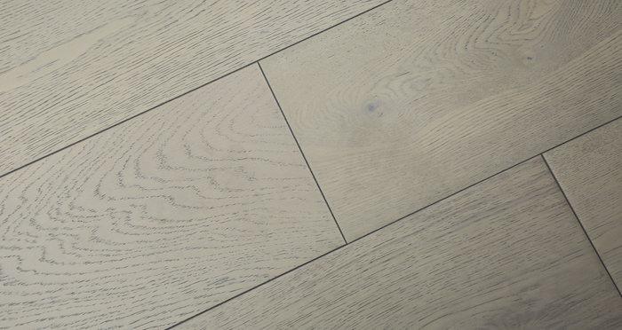 Apollo Grey Oak - Brushed & Oiled Oak Engineered Wood Flooring 20mm - Descriptive 5