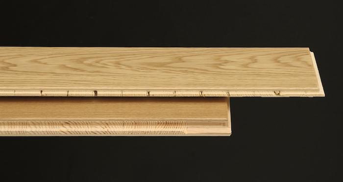 Kensington Oak Natural Lacquered Engineered Wood Flooring - Descriptive 1