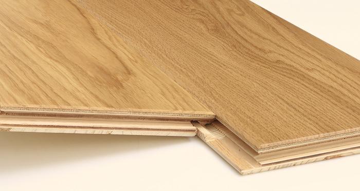 Kensington Oak Natural Lacquered Engineered Wood Flooring - Descriptive 2