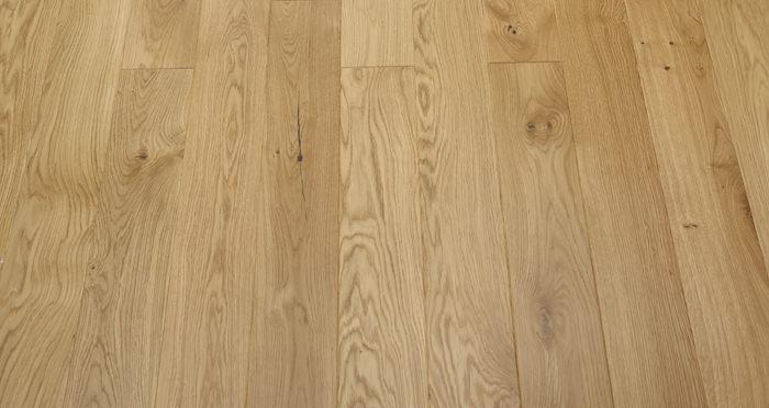 Kensington Oak Natural Lacquered Engineered Wood Flooring - Descriptive 5