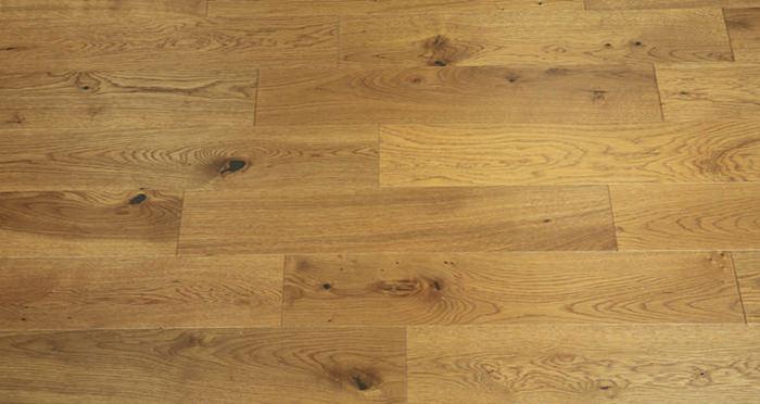 Carpenters Choice Oak 130mm Golden Smoked Engineered Wood Flooring - Descriptive 3