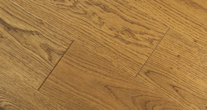 Carpenters Choice Oak 130mm Golden Smoked Engineered Wood Flooring - Descriptive 4
