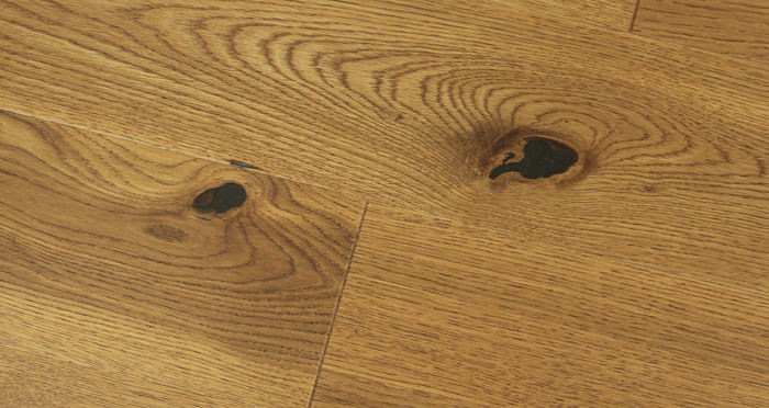Carpenters Choice Oak 130mm Golden Smoked Engineered Wood Flooring - Descriptive 6