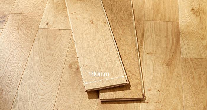 Mayfair Grande Oak Lacquered Engineered Wood Flooring - Descriptive 2