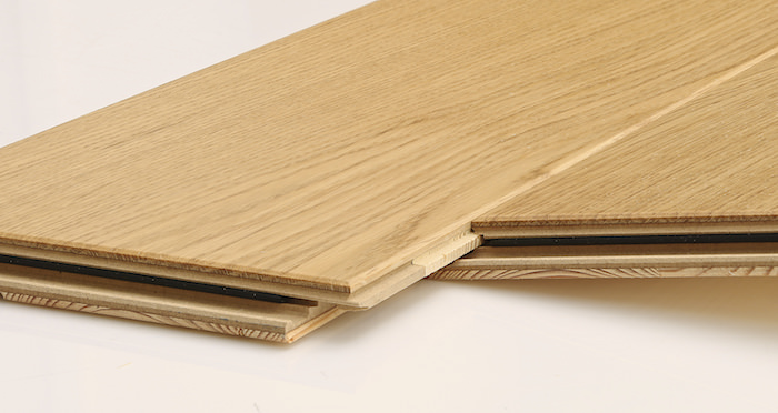 Knightsbridge Rustic Oak Lacquered Engineered Wood Flooring - Descriptive 2