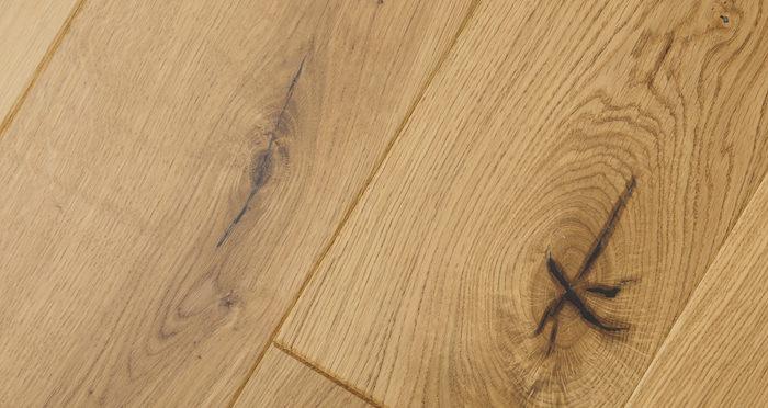 Knightsbridge Rustic Oak Lacquered Engineered Wood Flooring - Descriptive 8