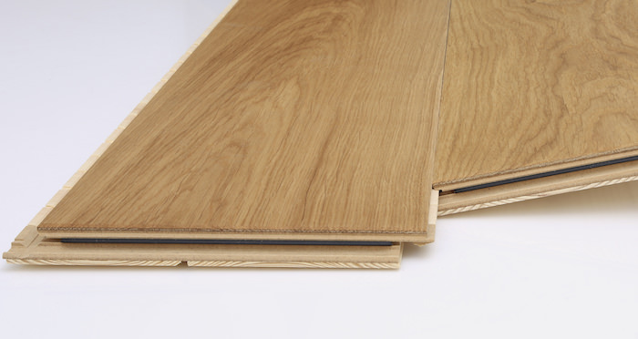 Knightsbridge Natural Oiled Oak Engineered Wood Flooring - Descriptive 2