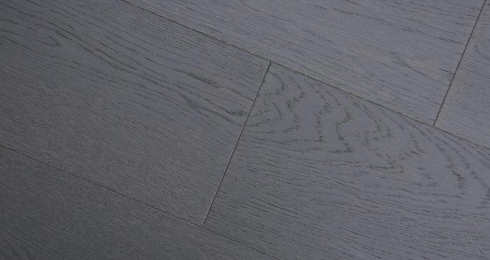 Knightsbridge Graphite Oak Brushed & Lacquered Engineered Wood Flooring - Descriptive 4