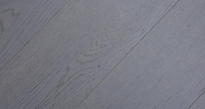 Knightsbridge Graphite Oak Brushed & Lacquered Engineered Wood Flooring - Descriptive 6
