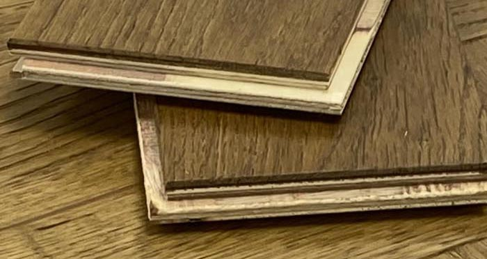 Trade Select Golden Brushed & Oiled Herringbone Engineered Wood Flooring - Descriptive 4